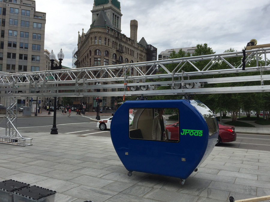 JPods demo on Greenway