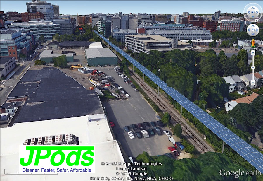 JPods coming into Kendall Square